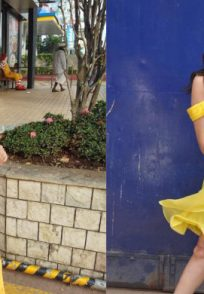 Isha Keskar and Sai Tamhankar show bright yellow trend.