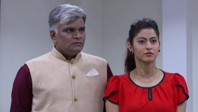 Abhidnya Bhave in a scene from Tula Pahate Re.