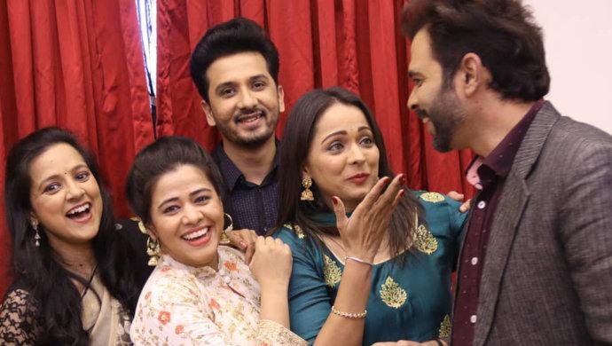 Abhijeet Khandkekar and Anita Date from Mazhya Navryachi Bayko