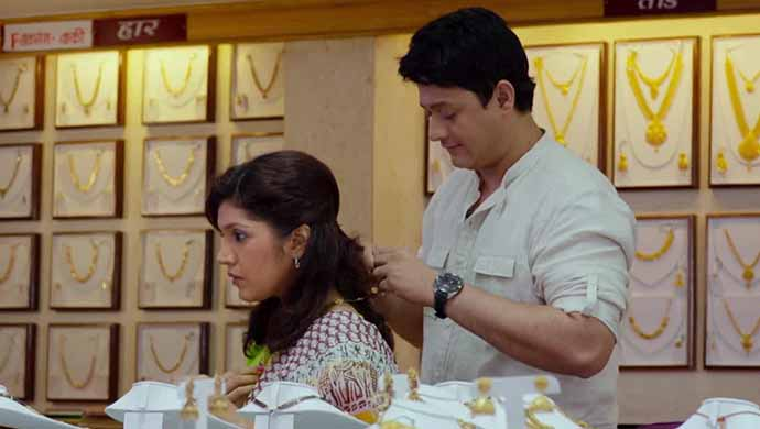 Mukta Barve and Swapnil Joshi from Mumbai Pune Mumbai 2.