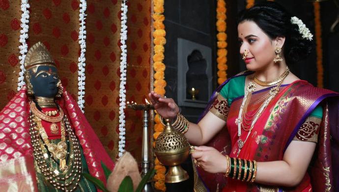 Prajakta Gaikwad plays Yesubai on Swarajyarakshak Sambhaji