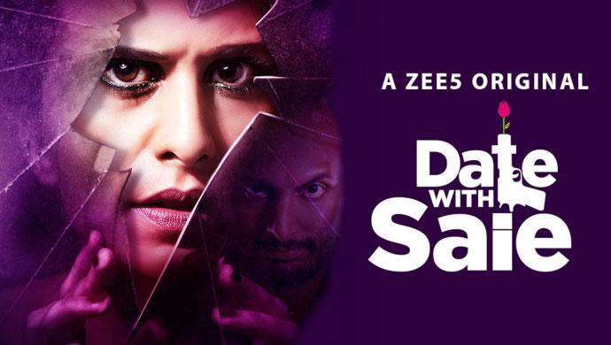date with saie poster featuring Sai Tamhankar