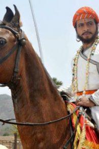 A Still From Swarajyarakshak Sambhaji Starring Amol Kolhe As Sambhaji