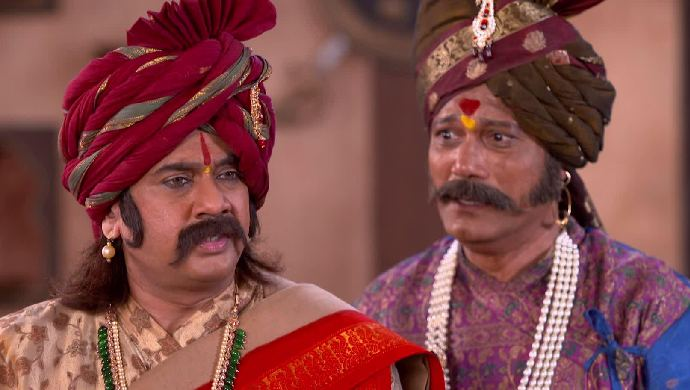 Hambirrao and Kaviraj from Swarajyarakshak Sambhaji
