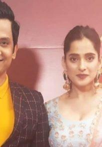 Priya Bapat At Zee Natya Gaurav Awards 2019
