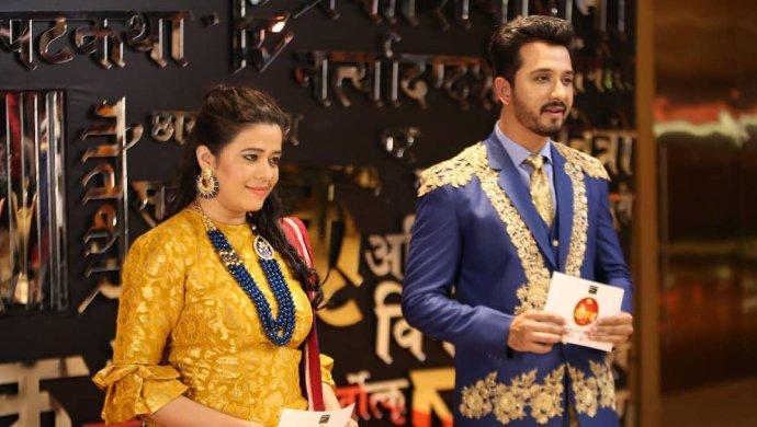 Abhijeet Khandkekar and Anita Date Zee Gaurav Nominations 2019.