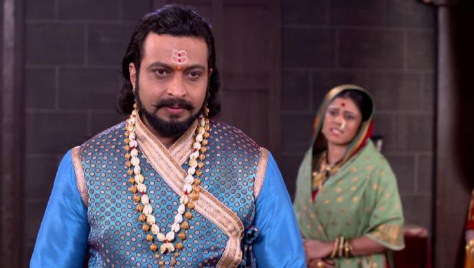 Amol Kolhe as Sambhaji in a scene from Swarajyarakshak Sambhaji.