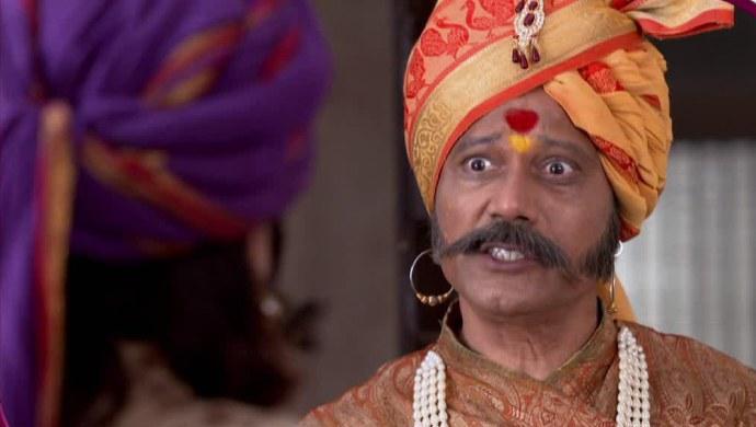 A scene from Swarajyarakshak Sambhaji