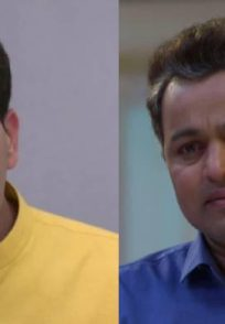 Aashutosh Gokhale and Subodh Bhave from Tula Pahate Re.