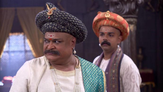 A Still Of Anaji Pant In Swarajyarakshak Sambhaji