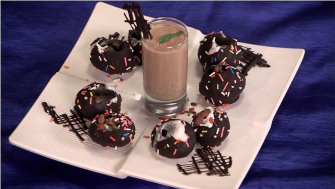Chocolate Pani Puri