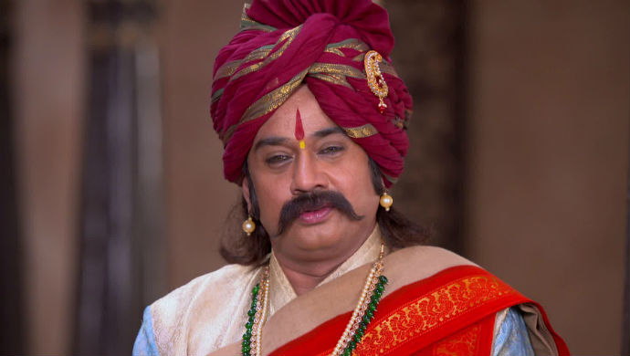 A Still Of Kaviraj From Swarajyarakshak Sambhaji