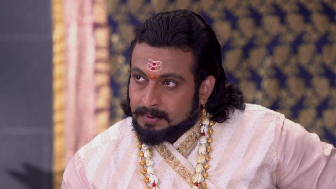 Sambhaji in a scene from Swarajyrakshak Sambhaji.