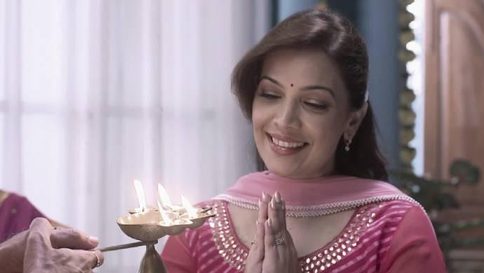 Shilpa Tulakar in a scene from Tula Pahate Re.