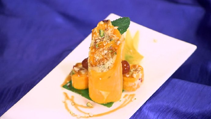 Mango Cheese Roll