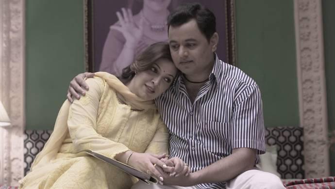 Rajanandini and Vikrant from Ek Ghar Mantarlela