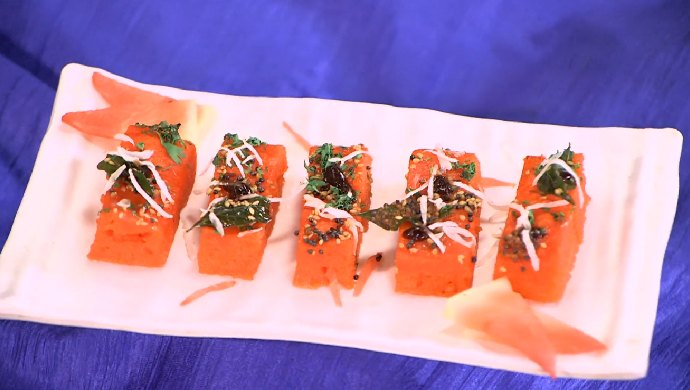 Watermelon Dhokla