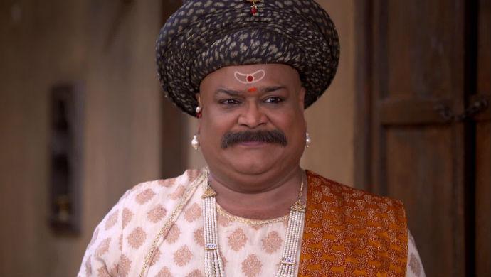 A Still Of Anaji Pant From Swarajyarakshak Sambhaji