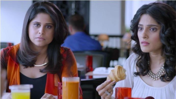A Still From Vazandar Starring Priya Bapat And Sai Tamhankar