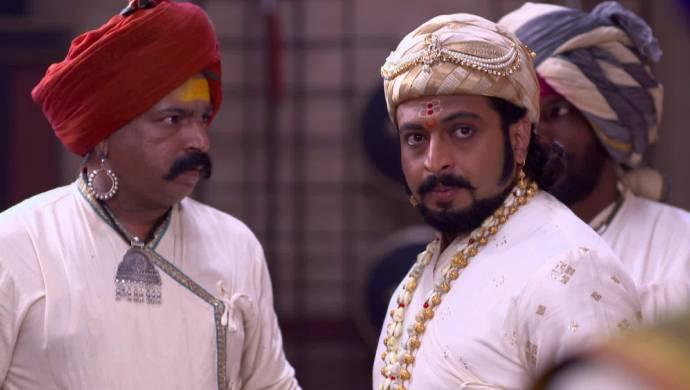 A scene from Swarajyarakshak Sambhaji.