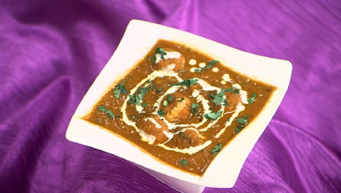 Flower Cheese Kofta Curry