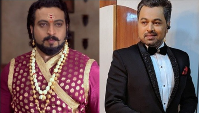 A Still Of Subodh Bhave And Amol Kolhe