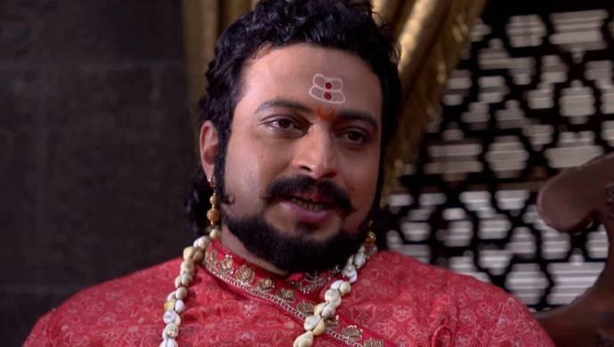 Scene from Sewarajyarakshak Sambhaji.