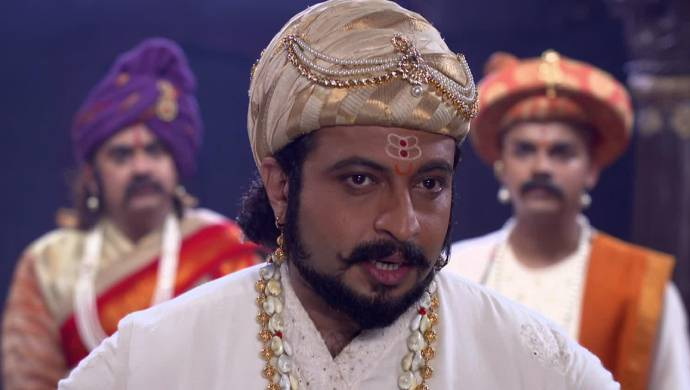 Scene from Swaajyarakshak Sambhaji