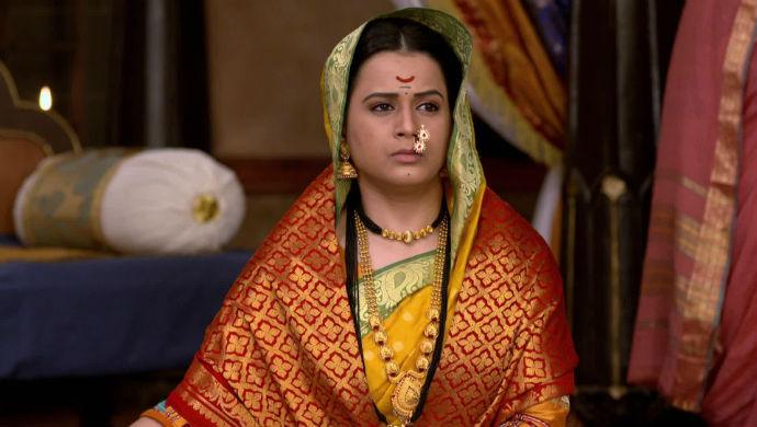 Yesubai in a scene from Swarajyarakshak Sambhaji