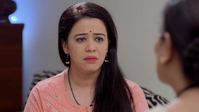 Radhika from Mazhya Navryachi Bayko