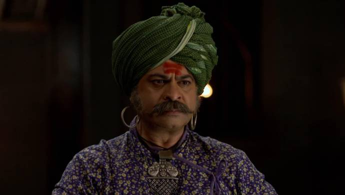 Scene from Swarajyarakshak Sambhaji