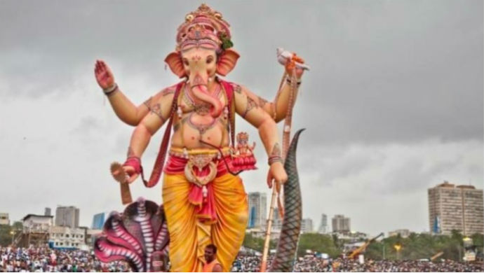 A Still From Ganesh Festival