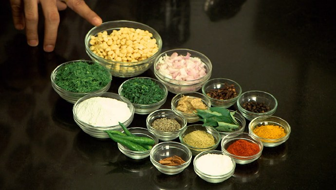 Chana Dal Shepu Vade Ingredients