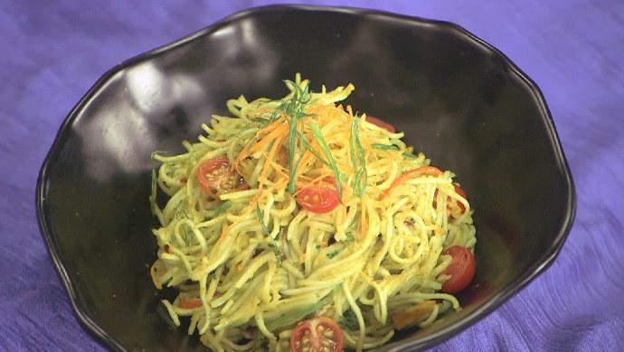 Veg Carbonara Noodles