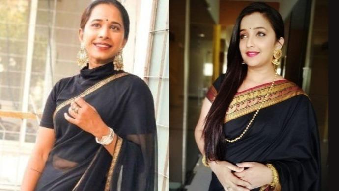 A Still Of Apurva And Shreya