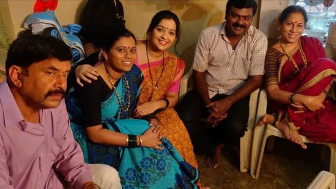 Apurva Nemlekar With Ratris Khel Chale cast