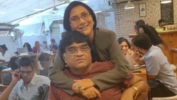 Nivedita Saraf and Ashok Saraf