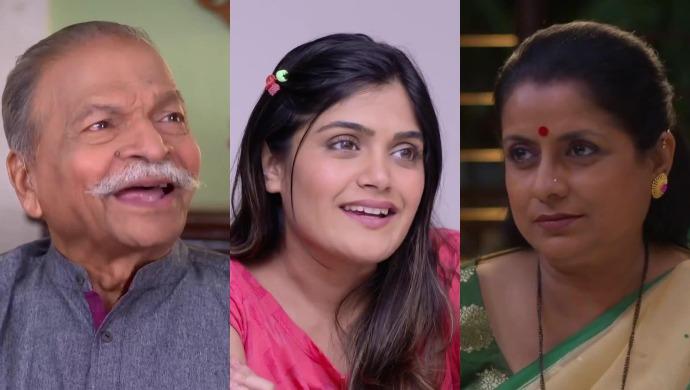 Ajoba from Agga Bai Sasubai, Shanaya from Mazhya Navryachi Bayko and Anuradha from Mrs Mukhyamantri