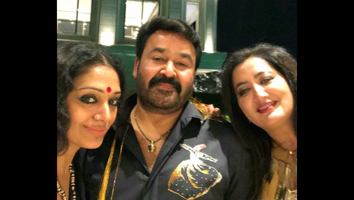 Mohanlal attends a party