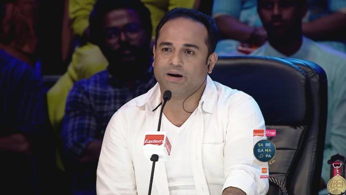 Shaan Rahman looks surprised at Jasim's acting skills