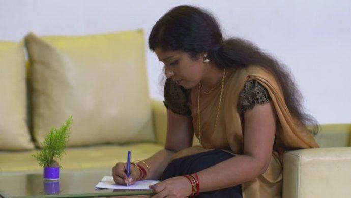 Kalyani writes the Exam