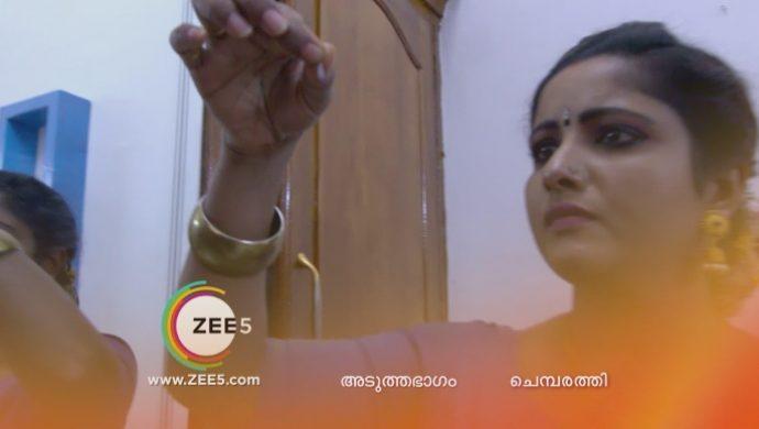 Vilasini finds Kalyani's hair