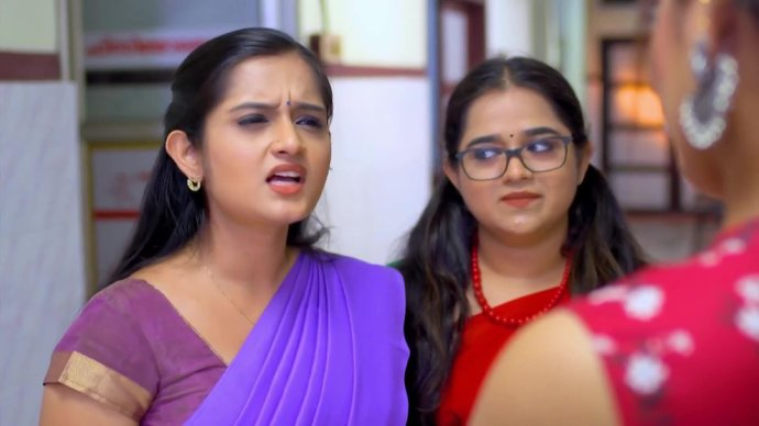 Kabani tells Rambha about Manikandan starting to talk