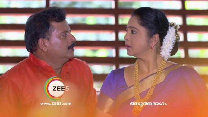 Krishnan and Akhila are shocked