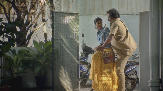 Raja and his daughter goes to deliver the letters (1)