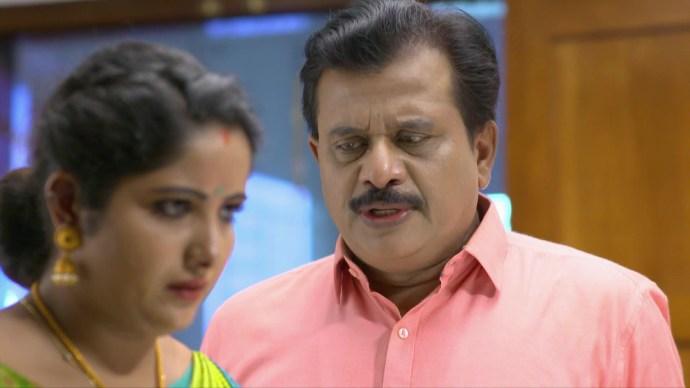Krishnan warns Vilasini (source:ZEE5)
