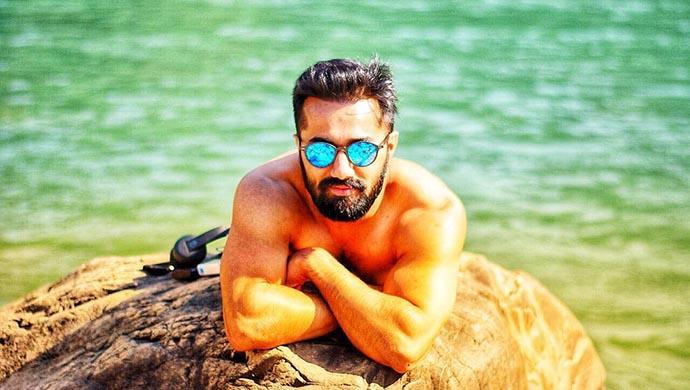 Vishal Karwal Posing on the beach