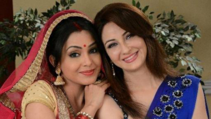 Angoori Bhabi and Anita Bhabi Together In the show