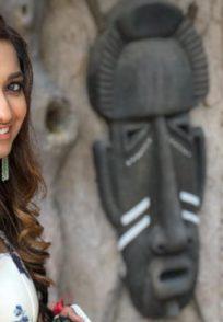 Jiyaa Shankar in White dress