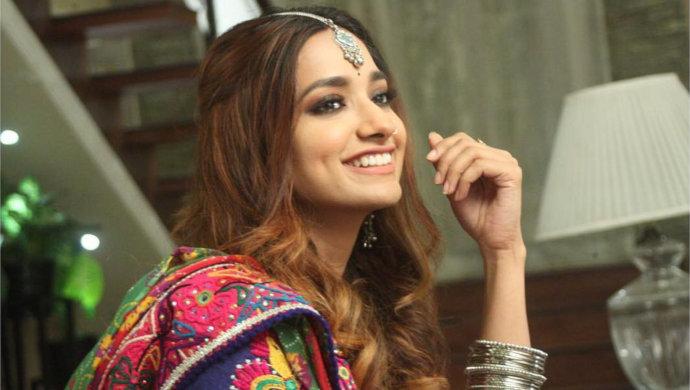 Jiyaa Shankar's bright smile
